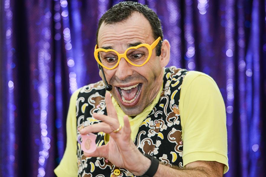 children's entertainer mr banana head